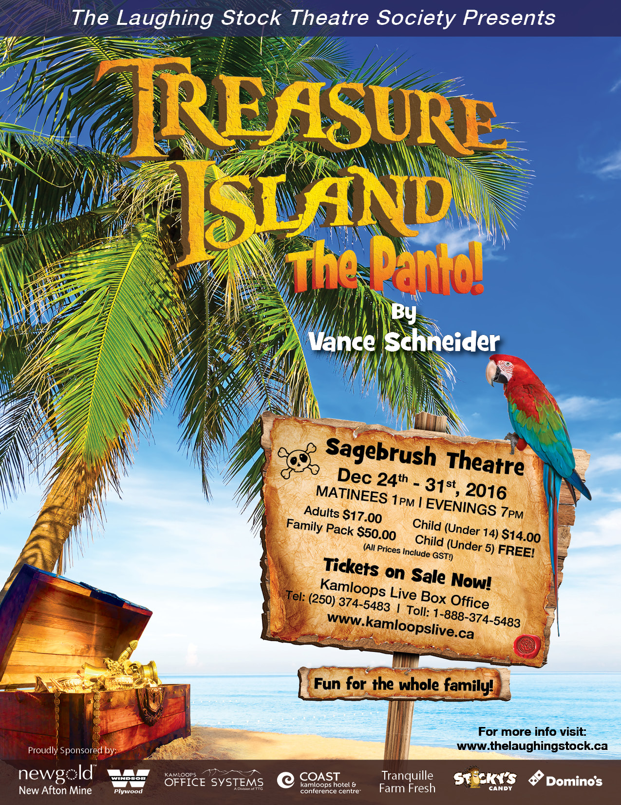 Treasure Island The Panto
