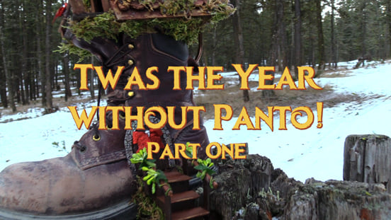 Twas The Year Without Panto!